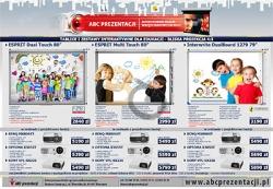 Aktualne promocje na urządzenia audiowizualne dla placówek edukacyjnych i firm