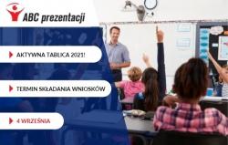 Aktywna Tablica 2021: oficjalny termin składania wniosków!