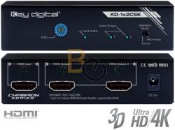 Dystrybutor sygnału HDMI Key Digital KD-1x2CSK