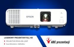 EPSON EB-L200F - PROJEKTOR LASEROWY FULL HD DLA EDUKACJI I BIZNESU