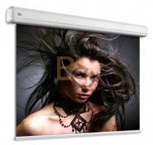 Ekran elektryczny Adeo Elegance 240x135 cm lub 230x129 cm (wersja BE) format 16:10 + projektor