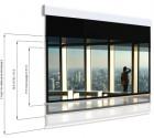 Ekran elektryczny Adeo Multiformat 300 cm