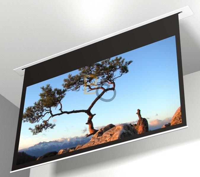 Ekran Elektryczny Do Zabudowy Avers Contour 240x180 Cm 4 3