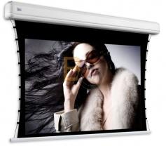 Ekran elektryczny z napinaczami Adeo Tensio Elegance 252x142 cm (16:9)