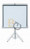 Ekran na trójnogu 2x3 PROFI 124x124 cm (1:1)