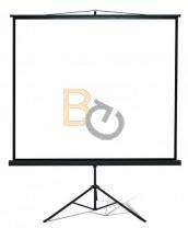 Ekran na trójnogu Kauber Econo 146x146 cm (1:1)