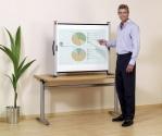Ekran przenośny NOBO - przekątna 125 cm (4:3) - super lekki