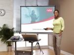 Ekran ręcznie rozwijany na trójnogu NOBO 150x100 cm (16:10)