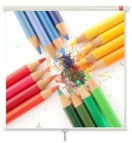 Ekran ręcznie rozwijany ścienny AVtek 200x200 cm (1:1)
