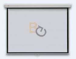Ekran ścienny ręcznie rozwijany 2x3 ecoBoards 177x177 cm (1:1)