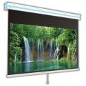 Ekran ścienny ręcznie rozwijany Avers Cirrus X 240x240 cm (1:1)