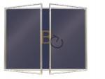 Gablota wewnętrzna 2x3 dwudrzwiowa model 2 180x120 cm - lakierowana