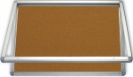Gablota wewnętrzna 2x3 jednodrzwiowa model 1 120x90 cm - korkowa
