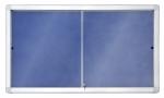 Gablota wewnętrzna 2x3 z przesuwanymi drzwiami model 1 18xA4 (141x101cm) - tekstylna