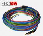 Kabel ProAV Professional Component 3xRCA <-> 3xRCA 10m