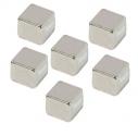 Magnesy 2x3 w kształcie sześcianu 6 szt.