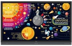 "Monitor interaktywny BenQ RM5501K 4K UHD 55"""