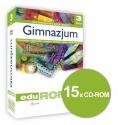 Oprogramowanie do tablic interaktywnych EduROM Gimnazjum klasa 3 - zestaw 7 przedmiotów