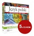 Oprogramowanie do tablic interaktywnych EduROM Gimnazjum pakiet przedmiotowy Język polski klasy 1-3