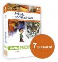Oprogramowanie do tablic interaktywnych EduROM Szkoła podstawowa klasa 6 - zestaw 4 przedmiotów