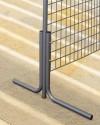 Podpórki do metalowej konstrukcji ekspozycyjnej