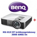 Projektor krótkoogniskowy BenQ MX819ST