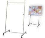 Stojak mobilny 2x3 do tablic (ramowy) 80×67 cm