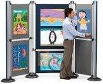 Systemy ekspozycyjne - modułowe i panelowe NOBO i 2x3