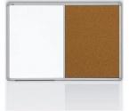 Tablica Combi 2x3 lakierowana korkowa 90x60 cm