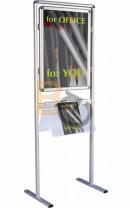 Tablica informacyjna 2x3 na stojaku A1(594×841)
