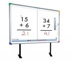 Tablica interaktywna Interwrite DualBoard 1295 - przekątna 95 cali