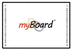 Tablica interaktywna myBoard Black 2C 85