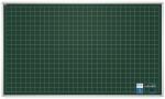 Tablica kredowa 2x3 z nadrukiem w kratkę 100×85cm magnetyczna, lakierowana