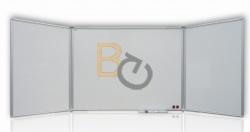 Tablica suchościeralna 2x3 Tryptyk 150x100/300cm magnetyczna, lakierowana