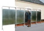 Tablica wyborcza 1500 x 1700 mm rurki średnicy Ø 35 mm