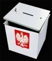 Urna wyborcza metalowa - wysokość 40cm