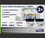 Zestaw Tablica interaktywna 2 + GRATIS