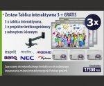 Zestaw Tablica interaktywna 3 + GRATIS