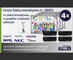 Zestaw Tablica interaktywna 4 + GRATIS