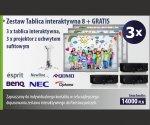 Zestaw Tablica interaktywna 8 + GRATIS