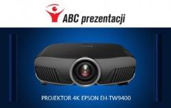 Zestaw do kina domowego: projektor Epson EH-TW9400 + Ekran Adeo Tensio Elegance