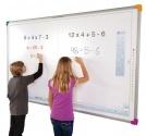 Zestaw interaktynwy - tablica interaktywna Interwrite DualBoard 1297 (16:9) + projektor BenQ MW809ST + warianty