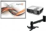 Zestaw interaktywny Class - Tablica interaktywna Esprit DT + projektor BenQ MX825ST + uchwyt
