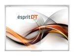 Zestaw interaktywny Esprit Dual Touch 80 z projektorem ultra krótkoogniskowym NEC UM301X