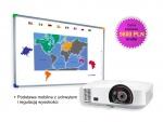 Zestaw interaktywny - Tablica DualBoard 1279 + projektor NEC M260XS + podstawa mobilna