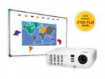 Zestaw interaktywny - Tablica DualBoard 1279 + projektor NEC V230X + uchwyt sufitowy