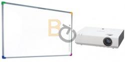 Zestaw interaktywny - Tablica DualBoard 1279 + projektor SONY VPL-EX235 + uchwyt sufitowy
