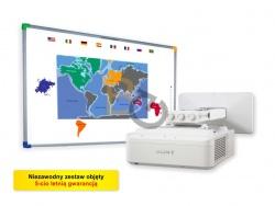 Zestaw interaktywny - Tablica DualBoard 1279 + projektor SONY VPL-SX630 + uchwyt ścienny SONY