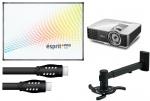 Zestaw interaktywny dla szkół EDU Pro: Tablica Esprit PP + projektor Benq MX806ST + warianty
