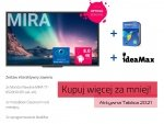 Zestaw interaktywny: monitor Newline MIRA TT-6520HO (65 cali, 4K) x2; mozaBook Classroom na 6 miesięcy x2; oprogramowanie IdeaMax x2